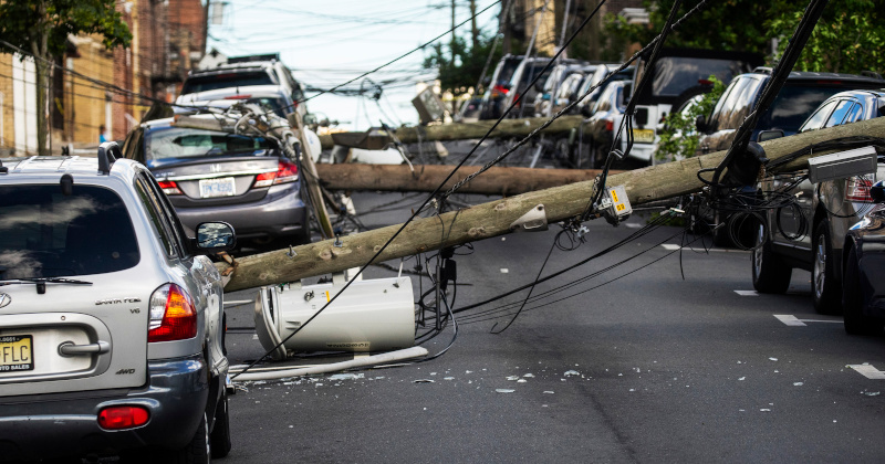 Storm Isaias Batters East Coast