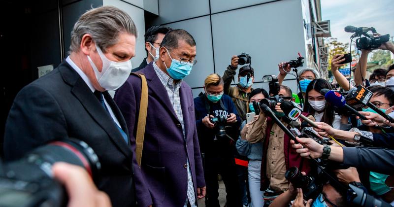 Billionaire Hong Kong Protest-Backer Jimmy Lai Arrested