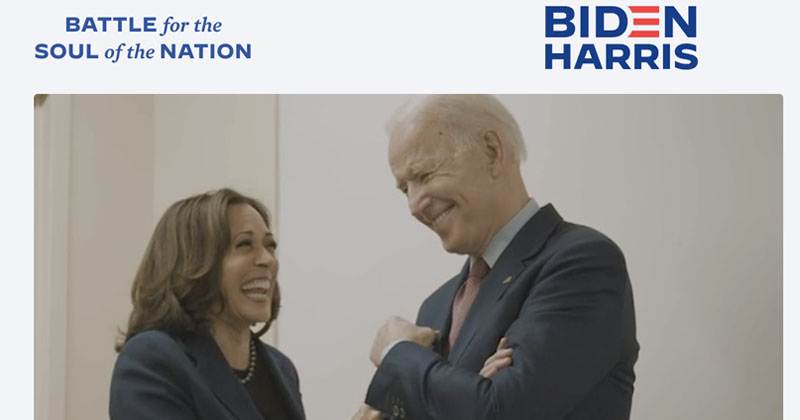 """Antifa.com"" Redirects To Joe Biden's Presidential Campaign Website"