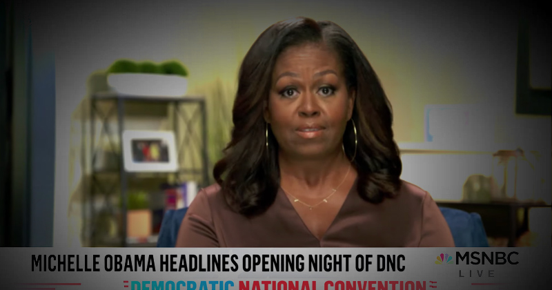 Michelle Obama Makes Bizarre Threat: 'If You Think Things Cannot Possibly Get Worse, Trust Me, They Can and They Will...'