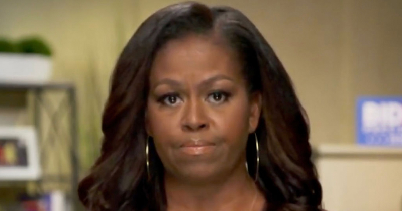 Michelle Obama Claims 'Systemic Racism' Coming from White House
