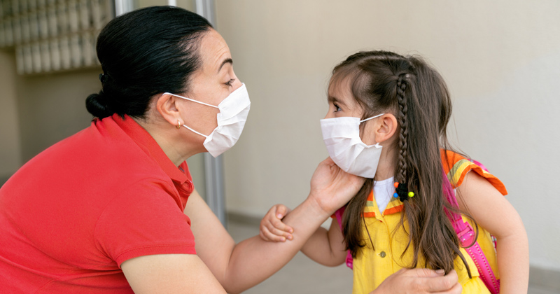 Local Media Recommends Parents Lie, Trick Children into Wearing Face Mask