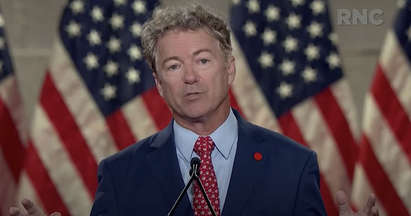 Rand Paul: Trump 'First President In A Generation to Seek to End War Rather Than Start One'