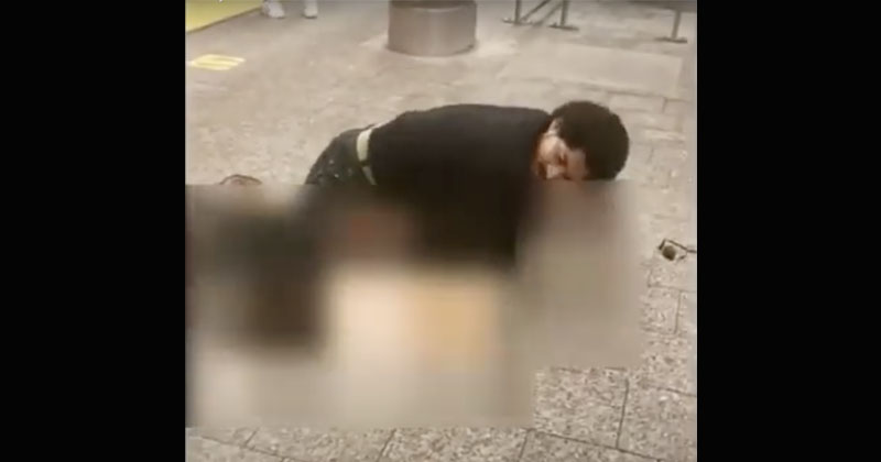 Shock Video: Man Tries To Publicly Rape Woman In Broad Daylight In NYC