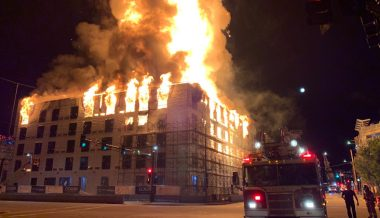 Massive Fire Engulfs Apartment Complex in Minnesota Capital