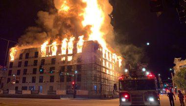 Massive Fire Engulfs Apartment Complex in Minnesota Capital