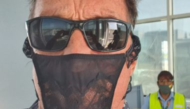 Billionaire John McAfee 'Arrested' For Wearing Thong as Face Mask