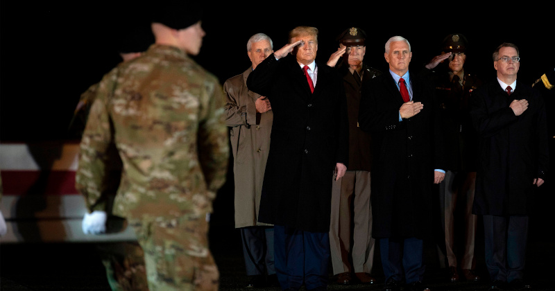 """Trump Expects Only 4,000 Troops in Afghanistan """"Very Soon"""""""