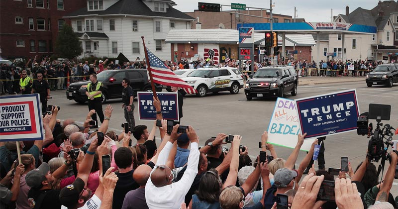 Suburban Voters Swing to Trump: They Now View BLM Unfavorably - Poll