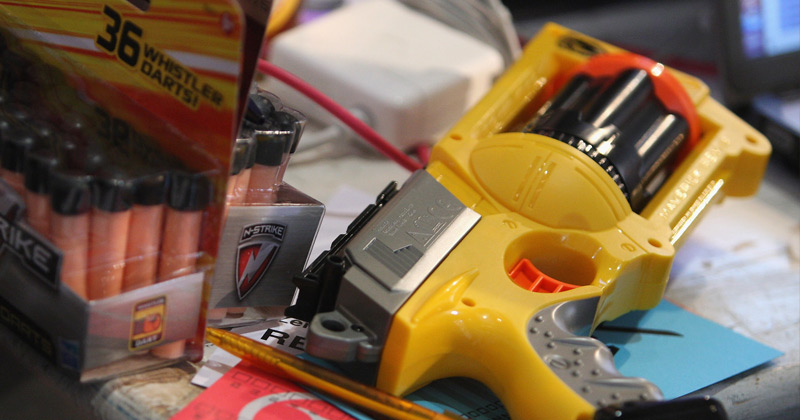 School Calls Cops on Boy Over Toy Gun in His Bedroom