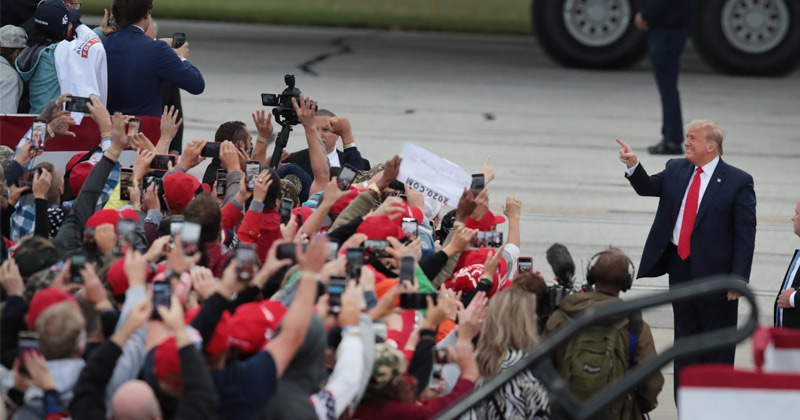 Watch Live! Fake News Destroyed by Massive Crowds At Trump Rallies