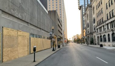 Louisville Boarded Up in Preparation For Potential Breonna Taylor Riots