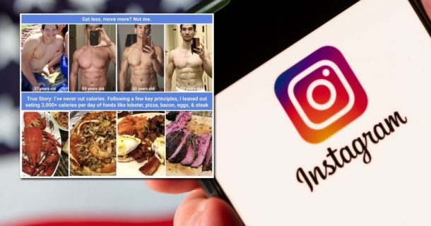 Instagram Promotes Obesity While Refusing Ads For Weight Loss Programs Because They May Hurt People's Feelings