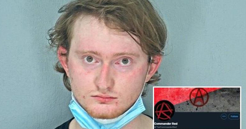 Flamethrower-Packing Antifa 'Entered Fetal Position And Began Crying' After Unsuccessful Escape From Cops