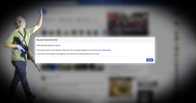 Facebook Censors Christian Crowdfunding Site Raising Money For Kyle Rittenhouse