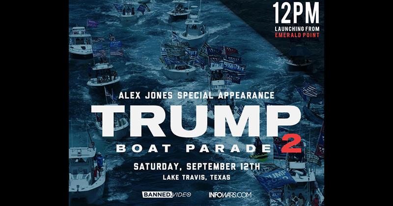 Trump Boat Parade Part II: September 12th, 2020 on Lake Travis