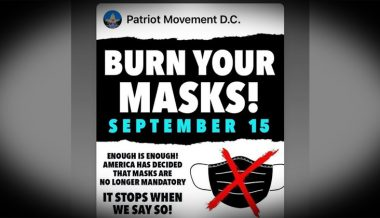 'Burn Your Mask Day' Erupts Nationwide