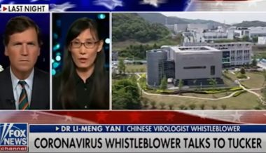 "Tucker Slams Facebook Censorship Of Chinese Virologist: ""It's Turning Us Into The Soviet Union"""