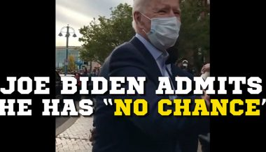 Breaking! Joe Biden Agrees With Hecklers, He Has No Chance To Win Election
