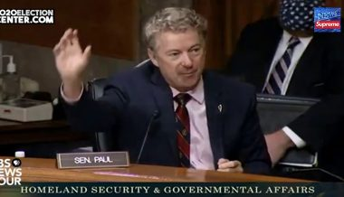 Senator Rand Paul Calls BLM A Terrorists Organization During Hearing