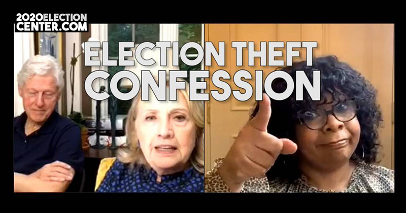 Democrats Confess To 2020 Election Theft