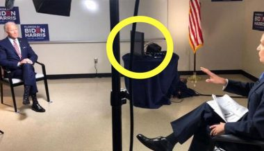 Must Watch: Biden Caught Reading From Teleprompter AGAIN When Answering Questions