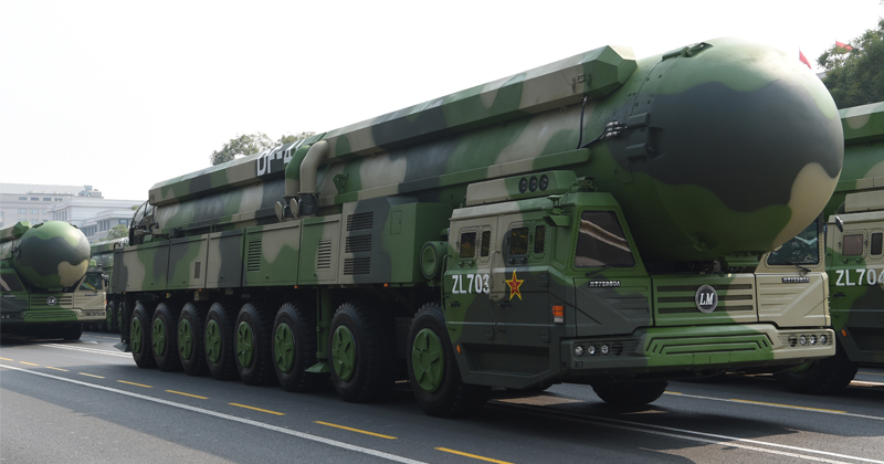 China Slams Pentagon Report Warning of Country's Nuclear Arsenal