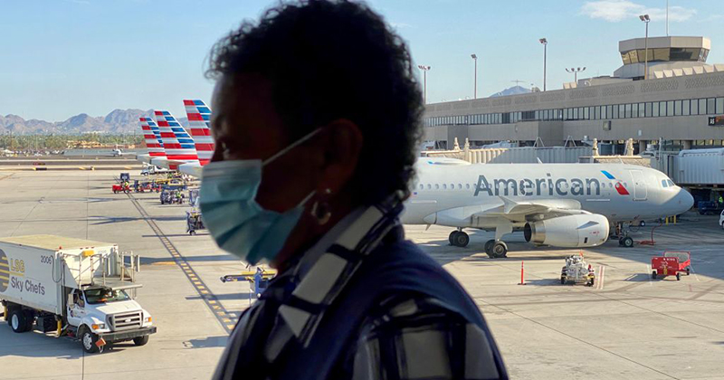 American Airlines Slammed For Advocating Employees Wear BLM Pins