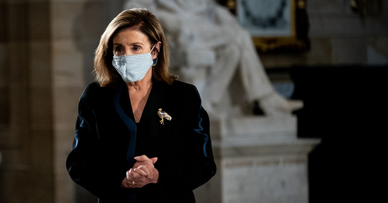 Nancy Pelosi Prepares for House of Representatives Vote to Elect the President