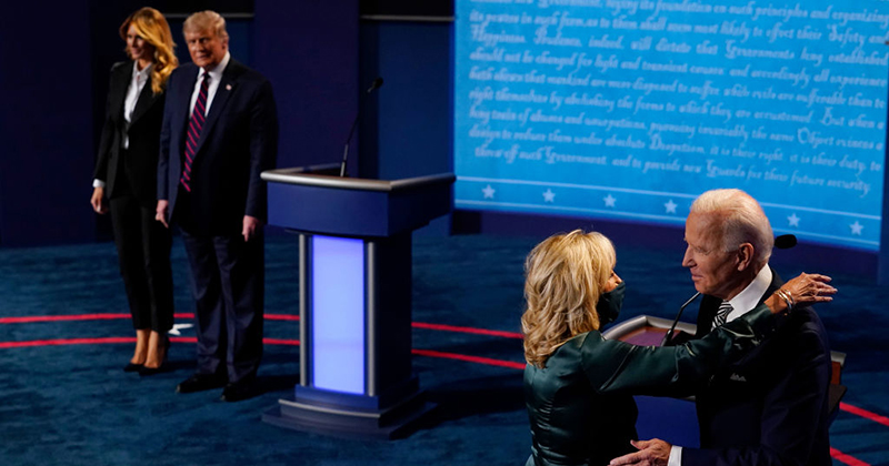 University Sets Up 'Support Spaces' For Students Traumatized By Presidential Debate