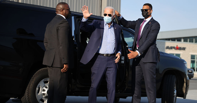 Joe Biden Admits Own National Mask Mandate Proposal Is Unconstitutional