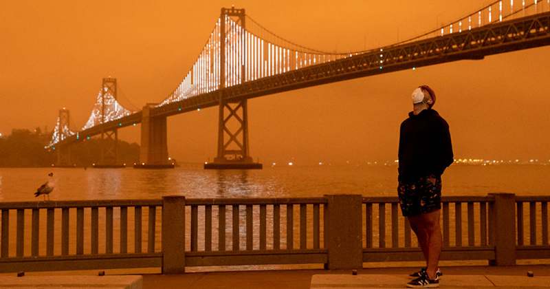 CDC: Cloth Face Masks Used to Stop COVID-19 Will NOT Stop Wildfire Smoke Inhalation