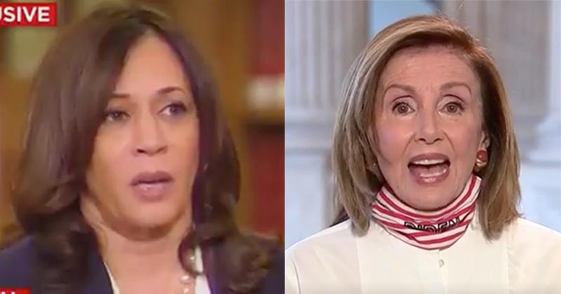 Video: Kamala Says Russians May Interfere To Re-Elect Trump; Pelosi Says Trump Is Putin's 'Accomplice'