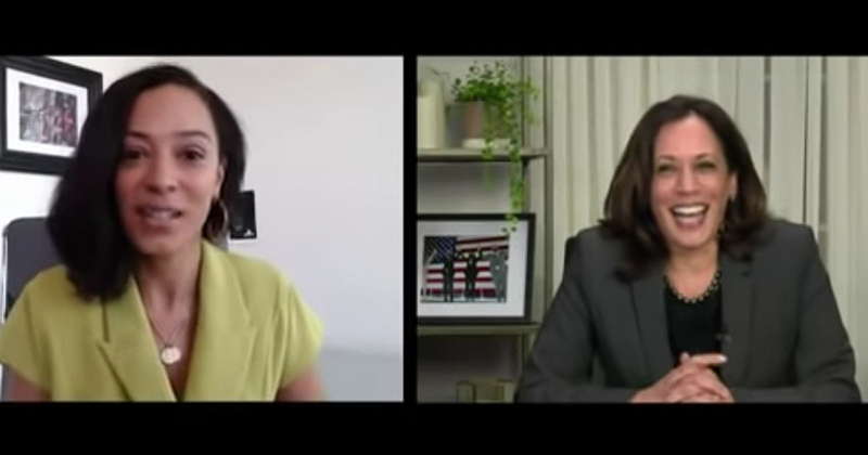 VIDEO: Kamala Harris Says Tupac Is the 'Best Rapper Alive', Is Unable to Name Any Modern Artists