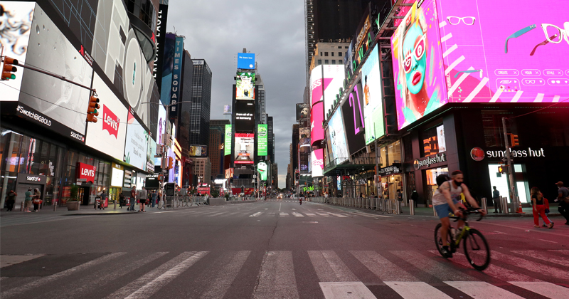 Times Square Hotel Set To Close As COVID Kills Hospitality Industry