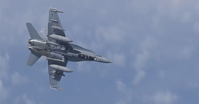 Russian Fighter Intercepts German Air Force Plane Over Baltic Sea