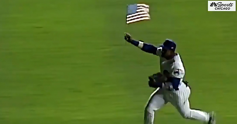 After 9/11, Sammy Sosa Hit Home Run, Proudly Ran With Old Glory. Now We Have Two National Anthems.