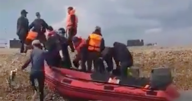 Farage Warns the 'Invasion Continues', as Record 1,450 Illegals Arrive in August