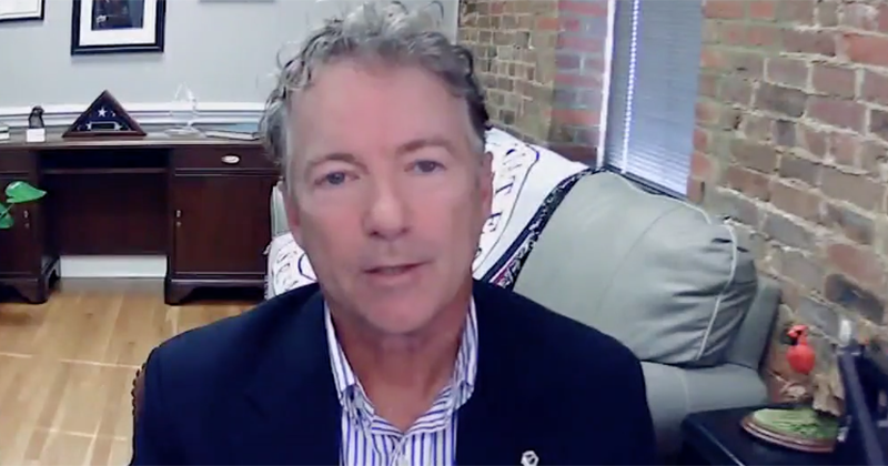 Rand Paul: Funding Given To Rioters Needs To Be Traced, Investigated