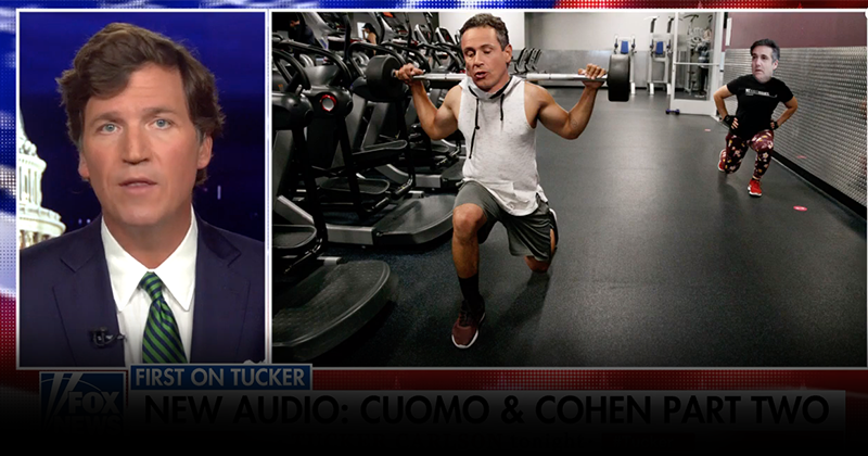 Tucker Carlson Releases Audio Of CNN's Fredo Coaching Cohen For Interview