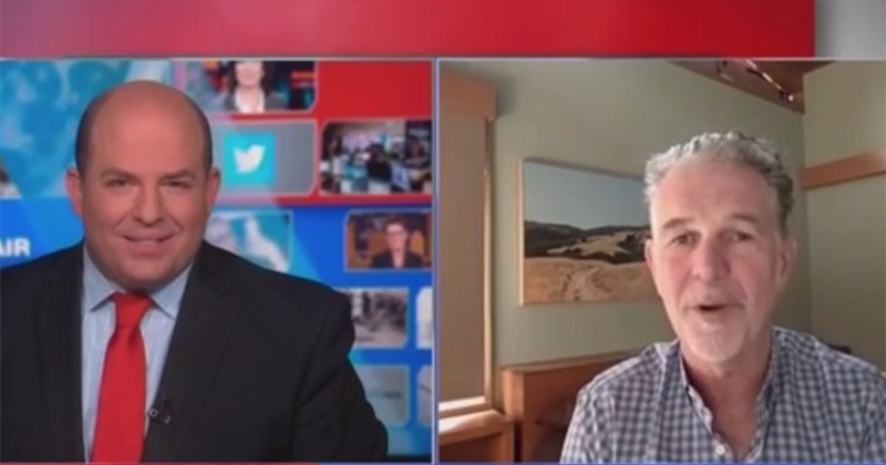 Stelter asks Netflix CEO ZERO questions about 'Cuties' as CNN gives pass on film, accused of showing 'child porn,' for 2nd time