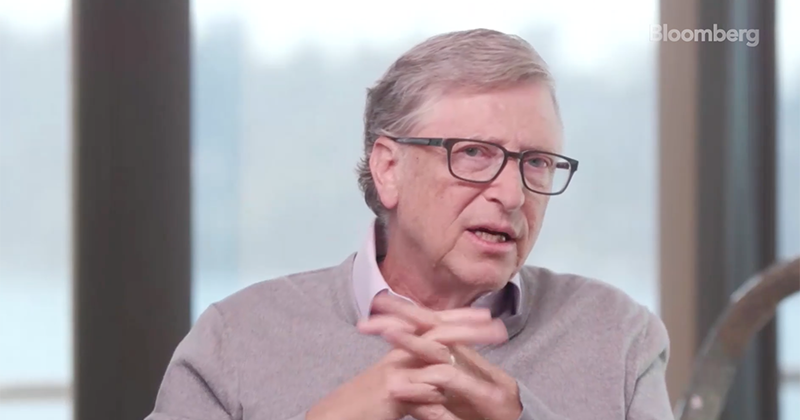 """Video: Bill Gates Pushes Global Vaccination, Says Covid Conspiracy Theories Are """"So Crazy"""""""
