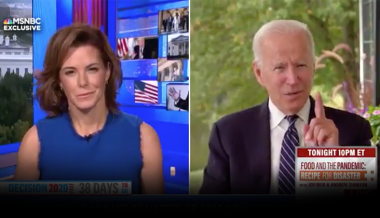 "Video: Biden Says Trump Is ""Sort Of Like"" Nazi Propagandist Joseph Goebbels"
