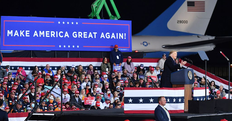 "Trump Zings Biden Over Face Mask: ""It Makes Him Feel Comfortable"""