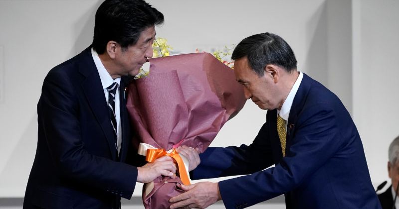 """Shinzo Abe's """"Right-hand Man"""" Becomes New Prime Minister of Japan"""