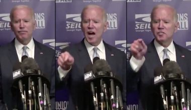 Joe Biden Snaps When Asked About Hunter Biden Conflict of Interest in Ukraine