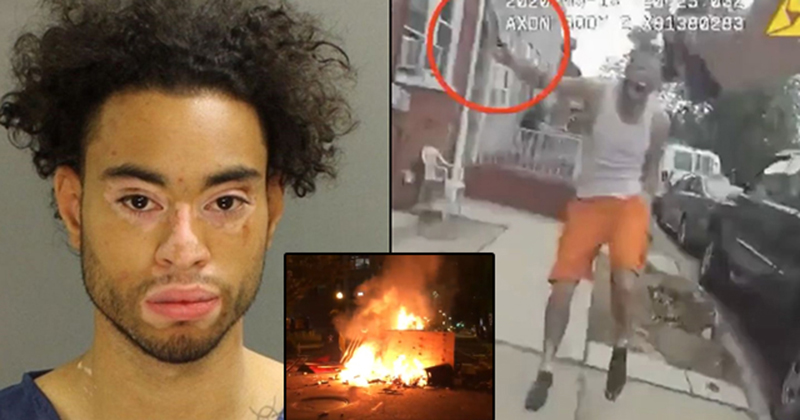 BLM Riot And Loot in Lancaster After Man Shot While Charging Cop With A Knife; Had Prior Charges For Stabbing 4 Others