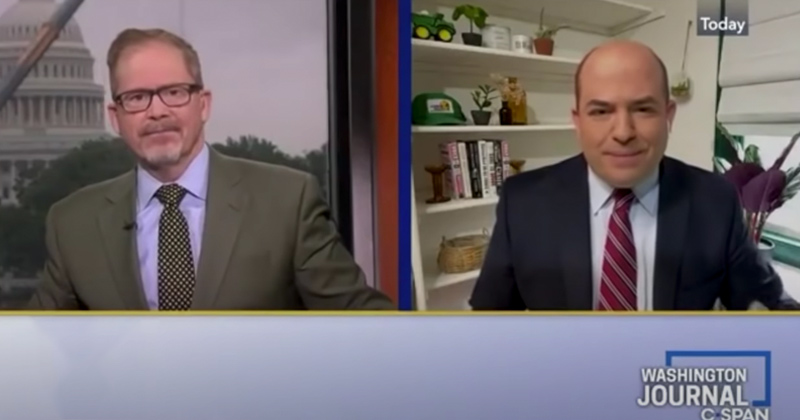 """Roast of Brian Stelter"": C-SPAN Appearance Goes South for CNN Fake Newser"