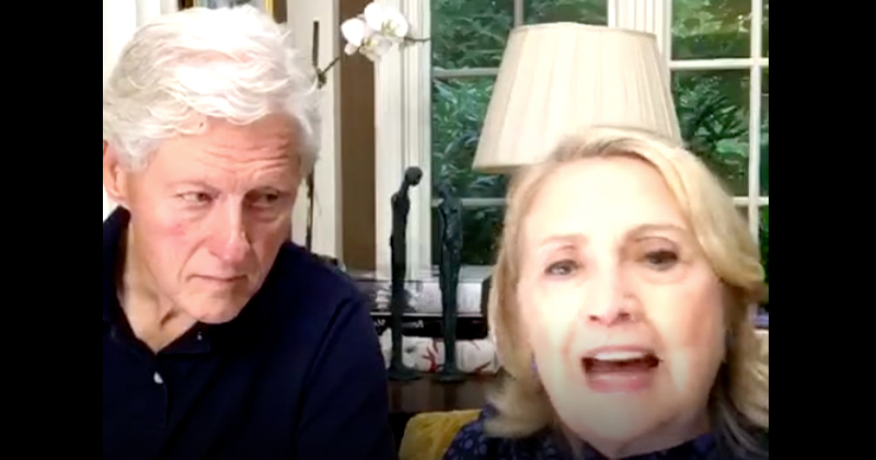 """Bill and Hillary Warn Biden: """"Do Not Concede Under Any Circumstance"""""""
