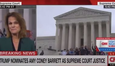 'CNN Is Fake News!': CNN Mercilessly Heckled During Amy Coney Barrett Nomination Coverage